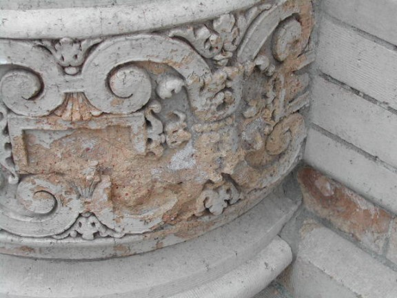 Existing Column Base