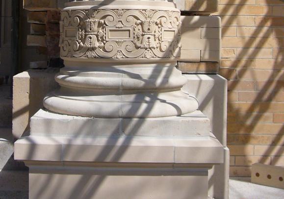 Refinished Column Base