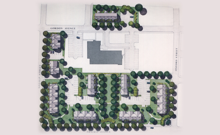 Oxford Site Plan