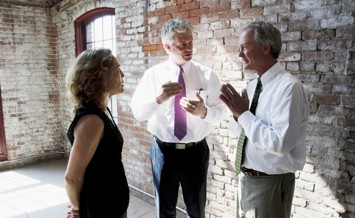 Governor Chafee visits the Design Exchange - Photo 2