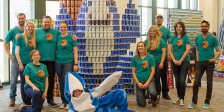 Left Shark Dances Out Hunger
