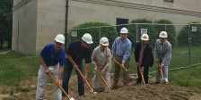 Franklin Public Library Ground Breaking