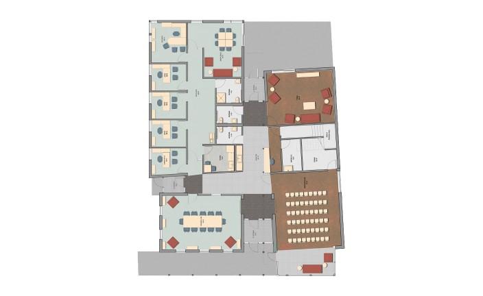 LLB Architects - LGBTQ Center at URI - Floor Plan
