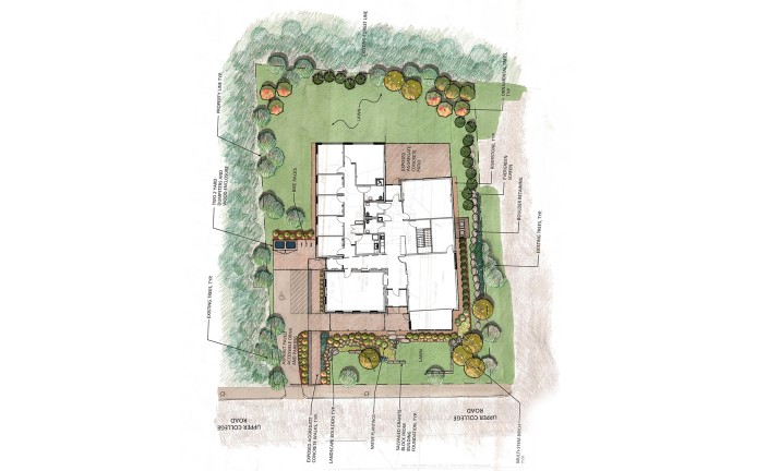 LLB Architects - LGBTQ Center at URI - Landscape Plan