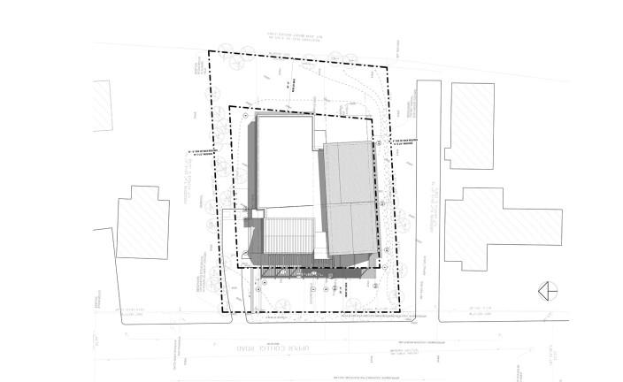 LLB Architects - LGBTQ Center at URI - Site Plan