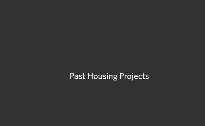 Past Housing Projects