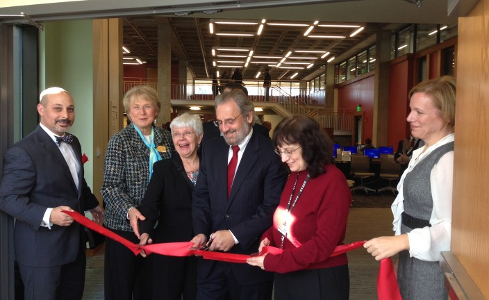 Ribbon Cutting - Cirillo, Caro, and Others