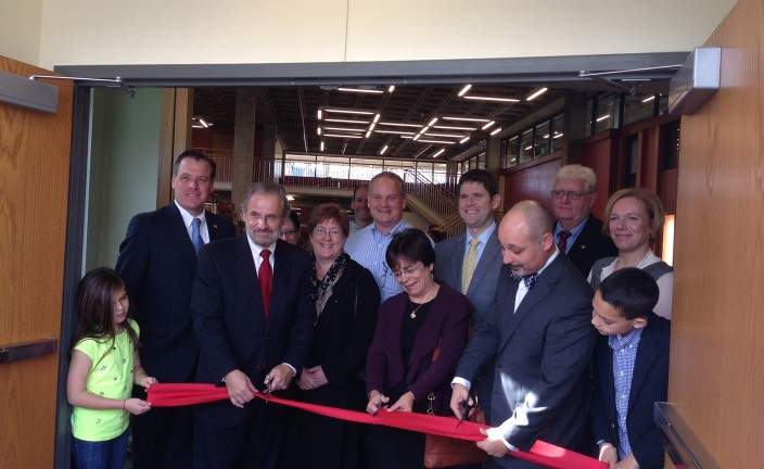 Ribbon Cutting - Cirillo, Timilty, and Penders