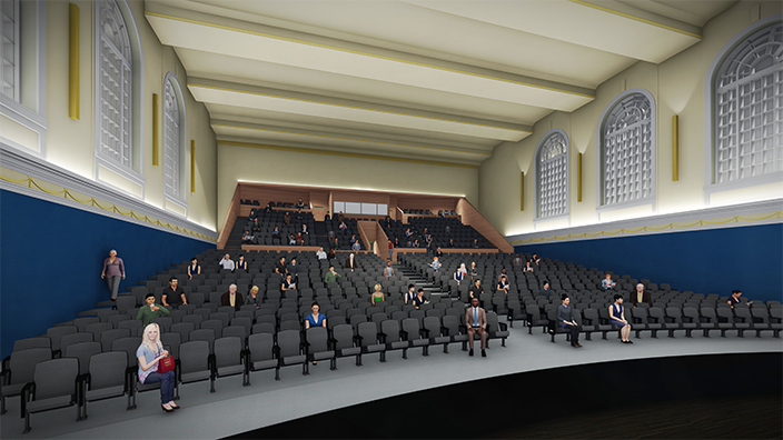 Hope High School Auditorium rendering