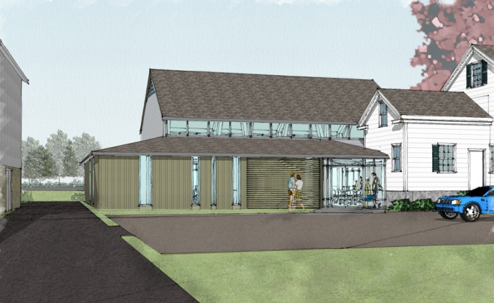 Thayer Homestead - Entry Rendering 12-0719