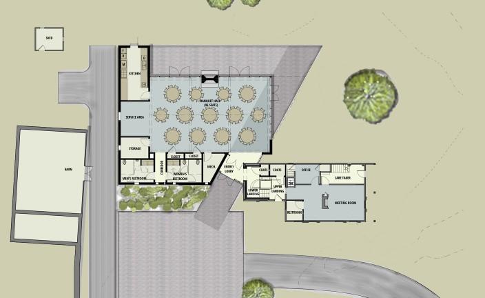Thayer Homestead - First Floor Plan 12-0719
