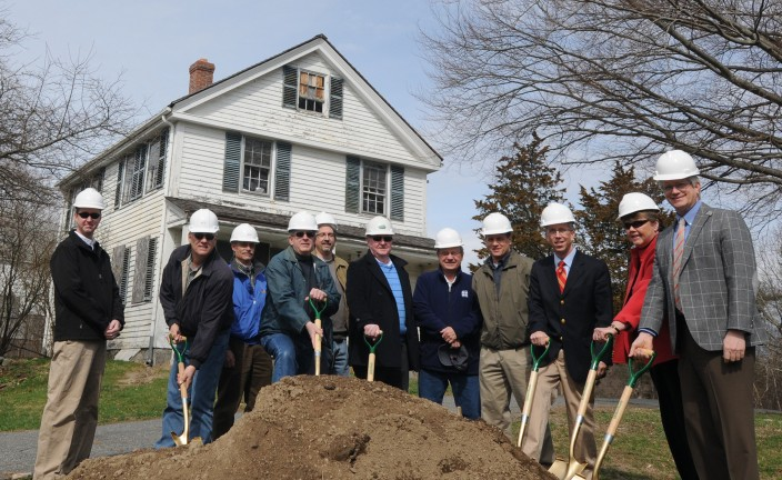 Thayer Homestead Groundbreaking 1
