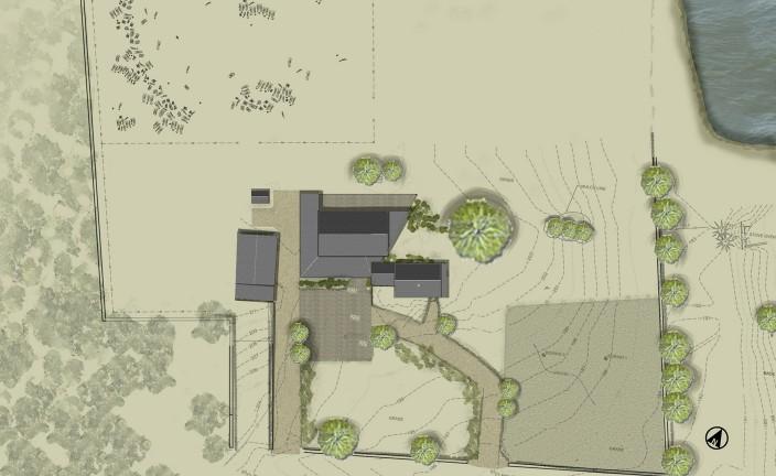 Thayer Homestead - Site Plan 12-0719