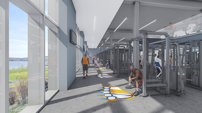 Coast Guard Academy Strength & Conditioning Center