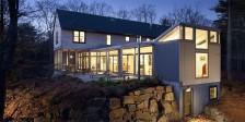 Miller/Carr Residence at Dusk