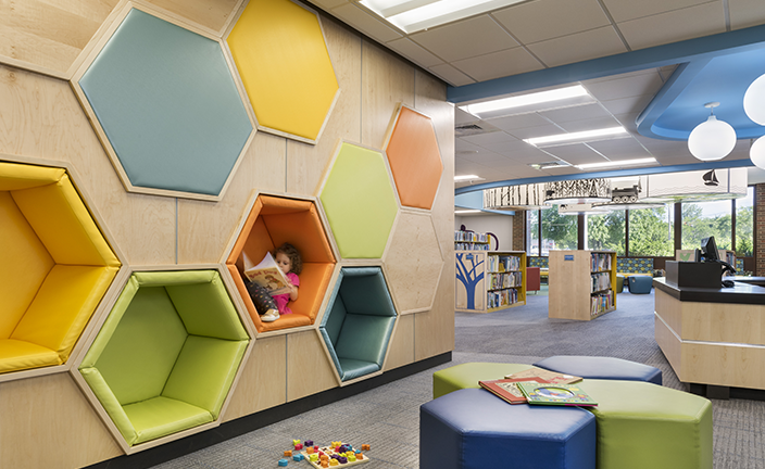Cranston Public Library Children S Room Renovation Llb Architects Lerner Ladds Bartels