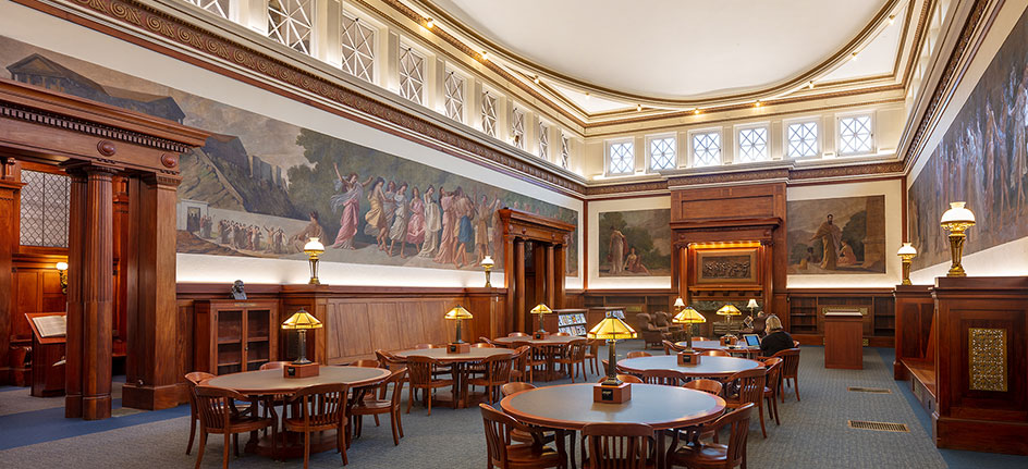 Franklin Public Library, Historic Reading Room